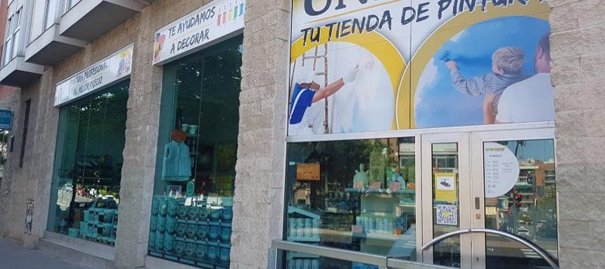 Uni-Her estrena su décima tienda de pinturas