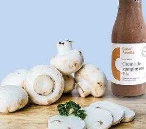 Casa Amella lanza una crema de champiñones bio