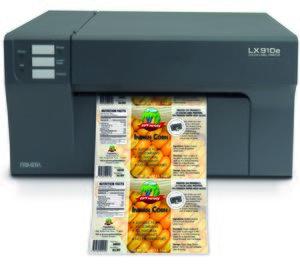 Primera Technology presenta la nueva impresora LX910e
