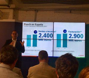 El grupo Bosch creció un 2,6% en España