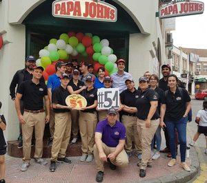 Papa Johns sigue creciendo en la Comunidad de Madrid