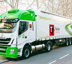 Taisa Logistics reúne cuatro vehículos GNL e incorporará cuatro megacamiones