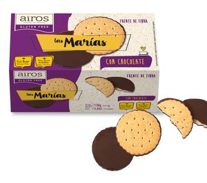 Airos, expansión y entrada en galletas sin gluten