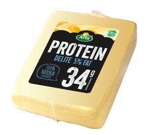 Arla incluye dos nuevas referencias de queso en su gama Protein