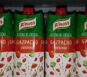 Unilever entra en el mercado de gazpacho y ajusta su negocio
