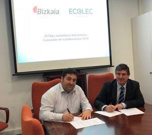 Garbiker y Ecolec renuevan su colaboración en RAEE