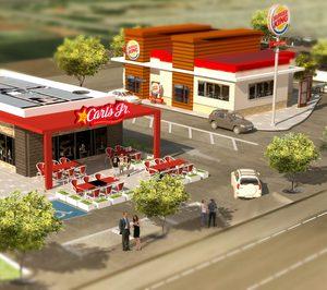 Hermes promueve dos locales de Carls y Burger King