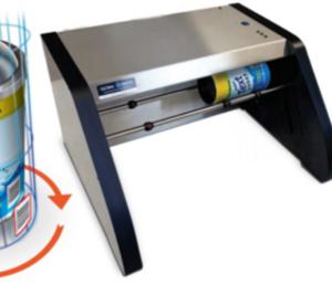 Nuevo escáner C8 Global Vision para packaging cilíndrico