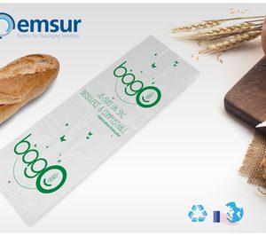 Emsur Francia desarrolla una bolsa compostable