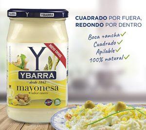Ybarra implanta en sus salsas un innovador envase cuadrado