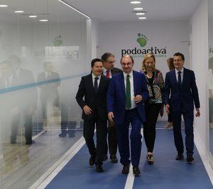 Podoactiva inaugura una clínica de 600 m2 en Zaragoza