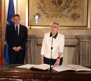 Ana Barceló toma posesión como consellera de Sanitat de la Generalitat Valenciana