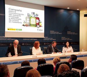 FEBE lanza una campaña sobre el etiquetado en licores