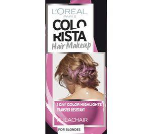 LOréal amplía su gama de maquillaje para el cabello Colorista