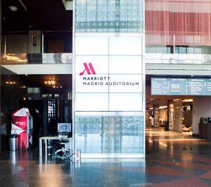 El Madrid Marriott Auditórium instala más de 900 televisores interactivos