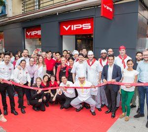 VIPS extiende su red en Madrid