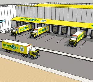 La cadena de supermercados Hiperber estrena un nuevo bloque logístico