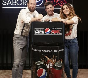 Pepsico presenta la campaña comparativa El Reto del Sabor Pepsi Max