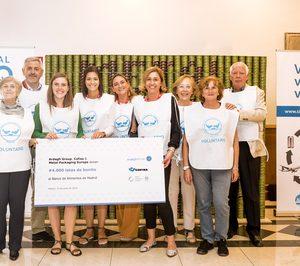 Metal Packaging Europe vuelve a colaborar con Banco de Alimentos