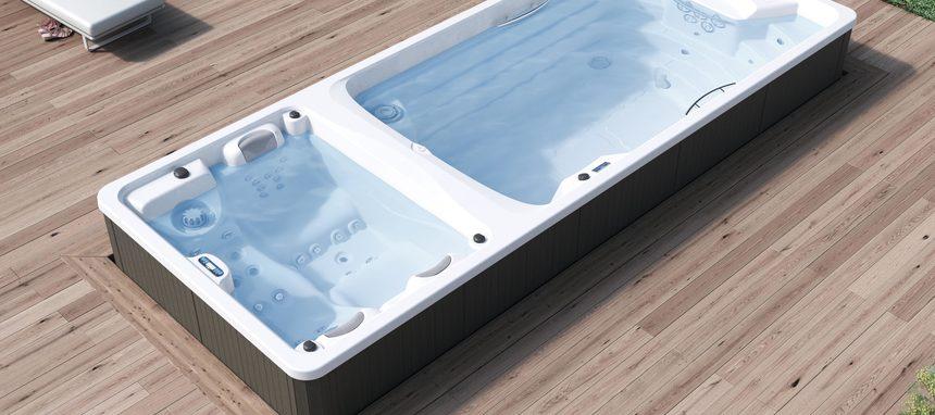 Aquavia presenta el nuevo Swimspa Duo
