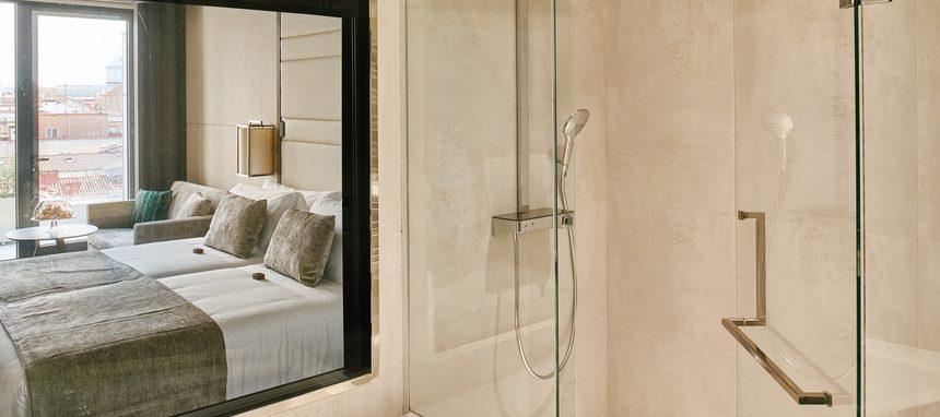 Hansgrohe en los baños del hotel VP Plaza España Design