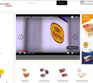 Postres Reina lanza su tienda online