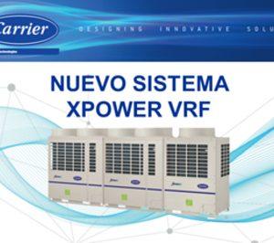 Carrier lanza la gama Xpower VRF