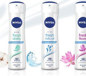 Nivea apuesta por el 0% aluminio en sus desodorantes