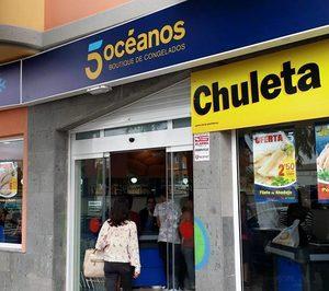 Las tiendas de congelados 5 Océanos completan su presencia en Canarias