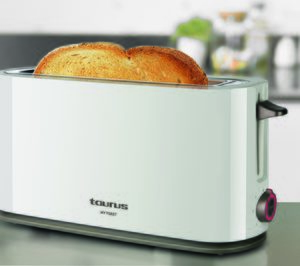 Taurus lanza la nueva tostadora Mytoast