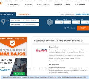 Packlink distribuirá en exclusiva el servicio Equipap de Correos
