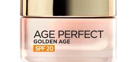 LOréal añade protección solar a su crema Golden Age