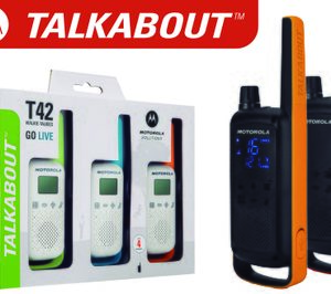 Telcomdis presenta la gama de walkie-talkies Talkabout de Motorola