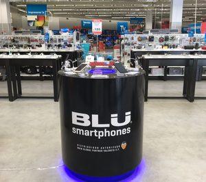 BLU Smartphones instala corners en Worten