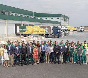 Huercasa inaugura el nuevo centro logístico de San Miguel del Arroyo