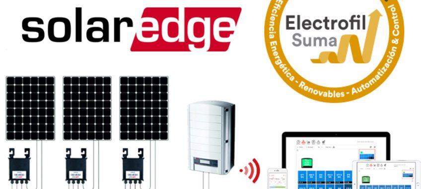 Electrofil distribuirá los equipos fotovoltaicos de Solaredge