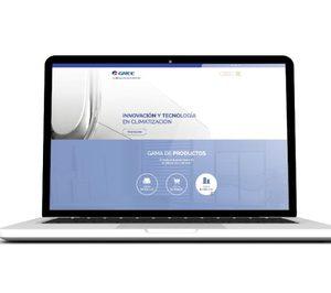 Gree renueva su web y mejora la interacción con los usuarios