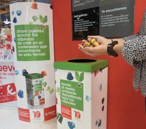 Eroski, primera distribuidora que reciclará cápsulas de café en sus tiendas