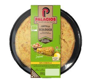 Palacios amplía su gama de tortilla con una variedad ecológica