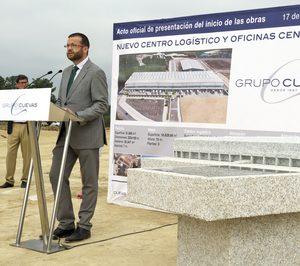El Grupo Cuevas inicia las obras de su nueva sede y plataforma logística