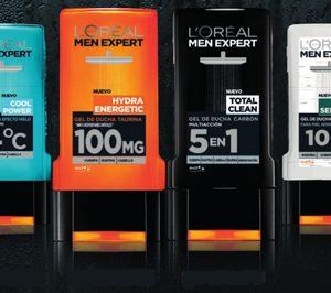 LOréal Men Expert pone en el mercado una línea de geles para hombre