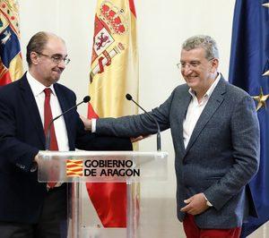 Pilar Ventura sustituye a Sebastián Celaya al frente de la consejería de Sanidad de Aragón