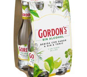 Diageo se suma a la tendencia sin alcohol con Gordons Sin
