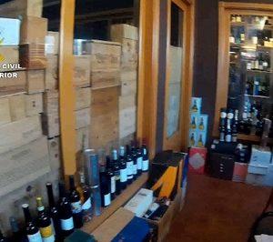 Desmantelada una organización que vendía vinos falsificados