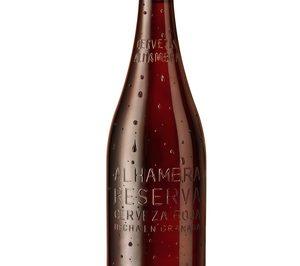 Cervezas Alhambra lanza la botella de 70 cl para compartir