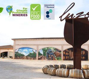 Bodegas Luzón renueva sus certificaciones en calidad internacional