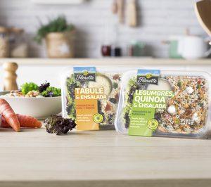 Florette presenta sus nuevas ensaladas con legumbres y cereales