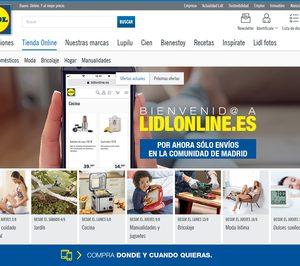 Lidl testa en Madrid su tienda online para productos de bazar