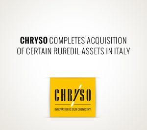 Chryso completa la compra de los activos de la italiana Ruredil