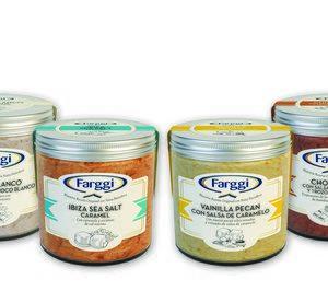 Frasco, la nueva gama de helado premium de 'Farggi'